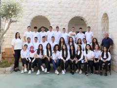 مدرسة العين الاعدادية كفرياسيف تحتفل بتخريج الفوج السادس والعشرين.
