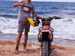 مصرع: الشاب معاد محمد مشلب 22عاما  في حادث دراجة نارية