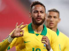 تألق نيمار بفوز البرازيل على البيرو 2:4