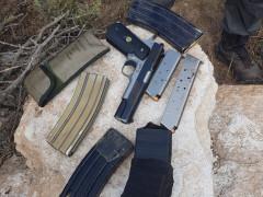 *الشرطة تضبط خلال مداهمة على محال تجارية في يافة الناصرة اسلحة غير قانونية