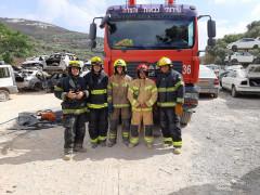 اصابة عامل في منطقة غور الأردن*