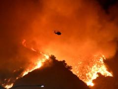 قطع أكثر من 8 آلاف كم صور بالأقمار الصناعية تُظهر وصول دخان حرائق الى اوروب