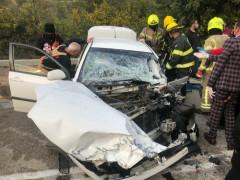 حادث طرق صعب بالقرب من قرية جت