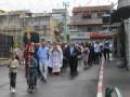كنيسة الروم الكاثوليك في كفرياسيف تحتفل بأحد الشعانين بأجواء من الفرحة