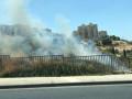 *اندلاع حريق في منطقة حرشية في لفتا قرب مدخل القدس*