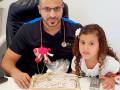 تهنئة مقدمة للدكتور نضال سعد بمناسبة نجاحه  في امتحان تخصص طب اطفال