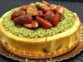 كعكة الجبنة المخبوزةكعكة لذيذة للجلسات العائلية وللمناسبات السعيدة،