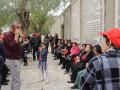 كنيسة الروم الكاثوليك كفرياسيف في  يوم تأملات وصلاة درب الالام في اورشليم القدس