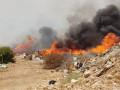 اندلاع حريق في منطقة أشواك في نحف، دون التّبليغ عن وقوع إصابات.