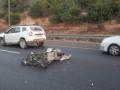 """حادث طرق وقع في  القدس على مفترق """"شورش""""،"""