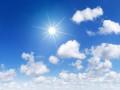 الطقس  غائم جزئي ويطرأ ارتفاع على درجات الحرارة