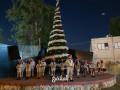 الوباء يغير تقاليد إضاءة شجرة عيد الميلاد في كفرياسيف