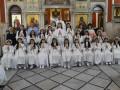 مناولة احتفالية في كنيسة الروم الملكيين الكاثوليك شفاعمرو