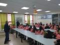"""الكاتب الصحفي زياد شليوط في ضيافة المدرسة الشاملة """"جـ"""" في شفاعمرو"""