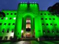 مبنى بلديّة حيفا سيضاء هذا المساءباللون الاخضر بمناسبة فوز فريق مكابي حيفا