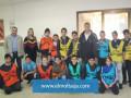 تمرين الدفاع المدني القطري بمدرسة البستان الابتدائية كفرياسيف