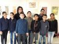 طلاب مدرسة ابوسنان الابتدائية الامل في ضيافة صالة ابداع كفرياسف