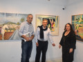 جولة في معرض الفنان التشكيلي إبراهيم حجازي
