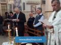 خدمة صلاة  الختن وتقديس  الزيت في كنيسة الكاثوليك كفرياسيف