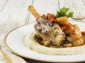 أوسوبوكو البطاطا المهروسة والخضروات