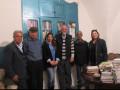 نادي حيفا الثقافي في زيارة لمركز إحياء التراث  في مدينة نابلس ودور النشر فيها