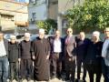 الشيخ موفق طريف الرئيس الروحي للطائفة الدرزية ووفد مرافق كبير يزور مجلس كفرياسيف المحلي .