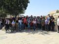 رحلة دينية وروحية لمدينة القدس لابناء كنيسة الروم  الكاثوليك كفرياسيف