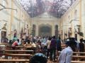 العنف في سريلانكا  قتلى وجرحى في عيد الفصح 2019