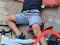 رهط: رجال والانقاذ يخلّصون رجل طفل علقت بدراجة هوائية*