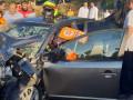 تخليص عالقين جرّاء حادث طرق وقع بين سيارة خصوصية وحافلة في يعاريم