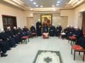 زيارة معايدة لطائفة الموحدين الدروز لمطرانية الروم الكاثوليك في حيفا