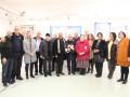 افتتاح معرض مسيرتي والحروفية للفنان كميل ضو في صالة ابداع كفرياسيف