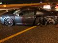 إحذروا الإنزلاقات إصابة طفيفة لسائق بعد تعرضه لحادث طرق في شارع 70