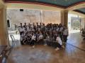 تهنئة لطلبة الصف التاسع بمدرسة المطران تيموتيوس كفرياسيف بمناسبة التخرج