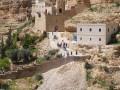 صورة مختصرة عن دير وادي القلط او دير القديس جورج الخوسيبي