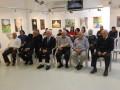 عرض رسومات ملتقى الالوان لجمعية ابداع في صالة ابداع كفرياسيف