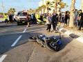 مصرع  حسام نداف (21 عامًا) في حادث دراجة نارية في مدينة عكا