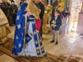 خدمة القداس الإلهي في بلدة بُرقين للاب ثيوذوسيوس مخولي كفرياسيف