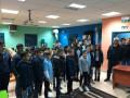 اسبوع الانترنت الامن مع الإعلامي والكاتب نادر أبو تامر في مدارس شفاعمرو