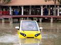 """""""سيارة تسونامي"""".. ابتكار آسيوي لمواجهة موجات المد العاتية"""